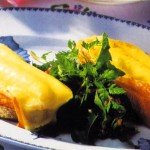 Munster géromé rôti sur salade de pissenlits aux lardons. dans LORRAINE GOURMANDE munster1-150x150