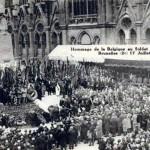 Le soldat inconnu français à Bruxelles Laeken dans A NOS ANCIENS hommagebelgiquesoldatfrancais1927-150x150