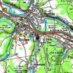 Arches et son château dans VOSGES D'AUTREFOIS cartedarches-150x150