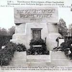 Le tombeau du soldat inconnu belge à Paris dans GUERRE 1914 - 1918 tombeausoldatsbelgesperelachaise-150x150