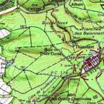 La nécropole et l'ossuaire de Douaumont (55) dans GUERRE 1914 - 1918 carteossuairedouaumont-150x150