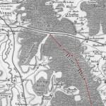 Quelle est l'origine de la tranchée de Calonne ? dans LE SAVIEZ-VOUS ? cartecassini-150x150