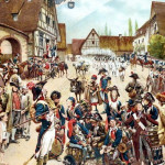 Le 22 décembre 1793 - Le combat de Freschweiller dans EPHEMERIDE MILITAIRE Scène-en-Alsace-150x150