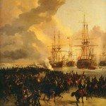 Le 21 janvier 1795 - La prise de la flotte hollandaise dans EPHEMERIDE MILITAIRE Prise-de-la-flotte-hollandaise-150x150