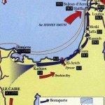 Le 25 février 1799 - La prise de Gaza dans EPHEMERIDE MILITAIRE Carte-de-la-campagne-de-Syrie-150x150