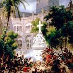 Le 20 février 1809 - La capitulation de la ville de Saragosse dans EPHEMERIDE MILITAIRE Le-siège-de-saragosse-150x150