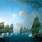 Le 12 avril 1782 - Le combat de la Dominique dans EPHEMERIDE MILITAIRE Le-combat-de-la-Dominique-150x150