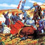 Le 5 mai 1862 - La bataille de Puebla dans EPHEMERIDE MILITAIRE Le-premier-siège-de-Puebla-150x150