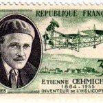 Le 4 mai 1924 - Premier vol en circuit fermé d'un hélicoptère dans EPHEMERIDE MILITAIRE Timbre-150x150