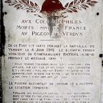 Le 2 juin 1916 - La résistance héroïque du fort de Vaux dans EPHEMERIDE MILITAIRE Plaque-commémorative-150x150