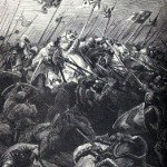 Le 11 juillet 1302 - La bataille de Courtrai ou la bataille des éperons d'or dans EPHEMERIDE MILITAIRE La-bataille-de-Courtai-150x150