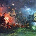 Le 13 juillet 1558 - La bataille de Gravelines dans EPHEMERIDE MILITAIRE La-bataille-de-Gravelines-150x150