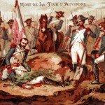 Le 28 juin 1800 - Le combat de Neubourg dans EPHEMERIDE MILITAIRE La-mort-de-la-Tour-dAuvergne-150x150