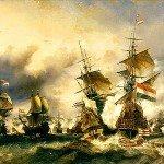 Le 29 juin 1694 - Le combat naval du Texel dans EPHEMERIDE MILITAIRE Le-combat-duTexel-150x150