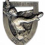 Le Bois Brûlé ou « Debout les Morts ! » dans GUERRE 1914 - 1918 Insigne-du-95°RI-150x150