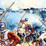 Le 17 juillet 1453 – La bataille de Castillon dans EPHEMERIDE MILITAIRE La-bataille-de-Castillon-150x150