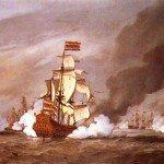 Le 21 août 1673 – La bataille navale du Texel dans EPHEMERIDE MILITAIRE La-bataille-de-Texel-150x150