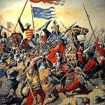 Le 27 juillet 1214 - La bataille de Bouvines dans EPHEMERIDE MILITAIRE La-batailles-de-Bouvines-150x150