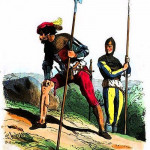 Histoire des troupes étrangères au service de la France (2) dans PAGES D'HISTOIRE Aventurier-au-XVe-siècle-150x150