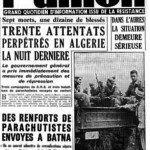 Le 1er novembre 1954 – La « Toussaint rouge » dans EPHEMERIDE MILITAIRE article-journal-1-novembre-1954-150x150
