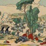 Le 3 novembre 1867 – La bataille de Mentana dans EPHEMERIDE MILITAIRE la-bataille-de-mentana-150x150