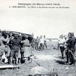 Le 2 février 1908 – Le combat de Ber-Rechid dans EPHEMERIDE MILITAIRE ber-rechid-levacuation-des-blesses-150x150
