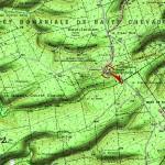 Le monument-ossuaire de la Haute Chevauchée (55) dans LIEUX DE MEMOIRE EN LORRAINE carte-du-monument-de-la-haute-chevauchee-150x150