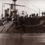 Le 13 avril 1904 – La catastrophe du Petropavlosk dans EPHEMERIDE MILITAIRE le-cuirasse-petropavlosk-150x150