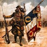 Historique de la Légion Étrangère (1) dans PAGES D'HISTOIRE porte-drapeau-du-regiment-de-marche-de-la-legion-etrangere-150x150