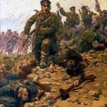 Le 4 octobre 1853 - Déclaration de guerre de la Porte ottomane à la Russie dans EPHEMERIDE MILITAIRE charge-des-soldats-de-larmee-russe-150x150