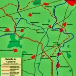 Carte de la bataille de Cambrai