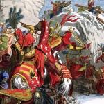 La bataille de Morgarten