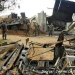 Le 6 novembre 2004 – Le bombardement de Bouaké dans EPHEMERIDE MILITAIRE le-bombardement-de-bouake-150x150
