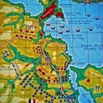 Carte de la bataille de La Corogne