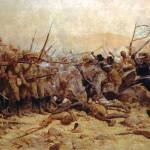 Le combat d'Abu Klea