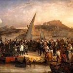 Napoléon Ier quittant l'île d'Elbe