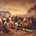 Le massacre de Fort Alamo