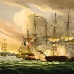 La bataille de l'ile d'Aix