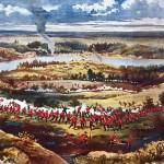 La bataille de Batoche