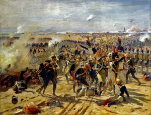 La bataille d'Essling