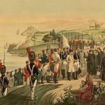 L'arrivée de l'Empereur sur l'ile d'Elbe