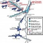 Carte des inondations défensives