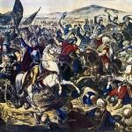 La bataille de Kosovo Polje