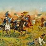 La bataille de Nachod