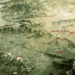 Vue aérienne du secteur du T-Bone