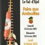 Foire andouilles Val Ajol 2015