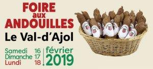 Foire aux andouilles Val d'Ajol 2019